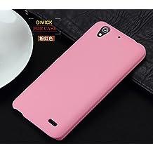 "Prevoa ® 丨Original Colorful Hard Plastic Cover Funda Para Huawei Ascend G630 5.0"" Smartphone - Rosa"