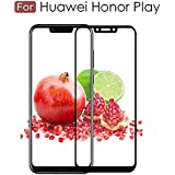 Original Premium Honor Play Tempered Glass – Magic Premium 5D Full Glue Honor Play Tempered Glass, Full Edge-Edge 5D Screen Protection For Huawei Honor Play - Black