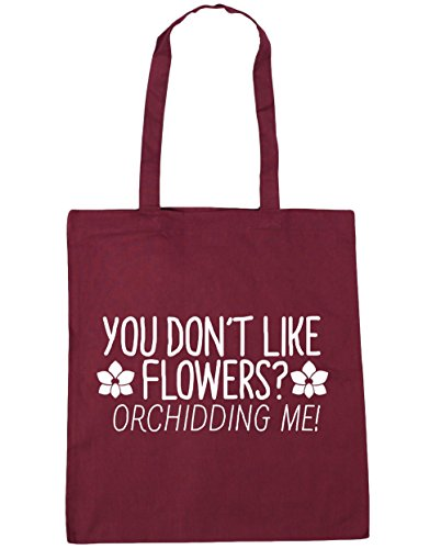 hippowarehouse-you-dont-like-flowers-orchidding-me-tote-shopping-gym-beach-bag-42cm-x38cm-10-litres