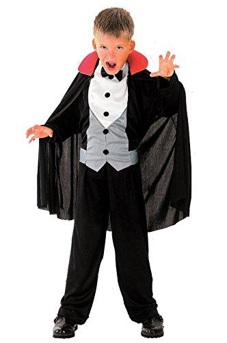 4-6 Jahre Vampir Kostüm Kinder Drakula Dracula Kinderkostüm Halloween Jungen