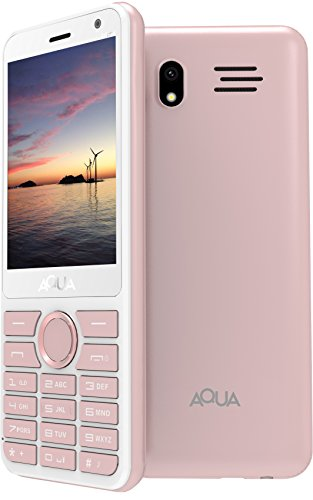 Aqua Mist - 2100 mAh Battery - Dual SIM Basic Mobile Phone - Rose Gold
