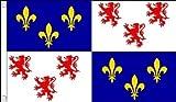 France Picardie - 5 'x3'- 150 cm x 90 cm-drapeau...