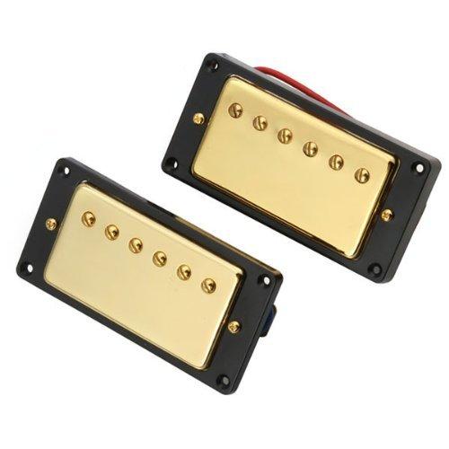 DN Oro Doppia Coil Humbucker Pickups Set per LG SG Chitarra - Humbucker Frame