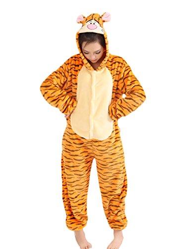 t Pyjamas Cosplay Tier Onesie Nachtwäsche Nachtwäsche, Tigger, M ()