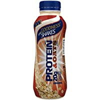 For Goodness Shakes Protein and Oats Original Shake, 315 ml, Pack of 10