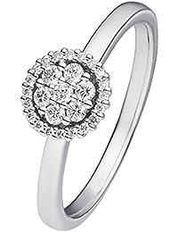 CHRIST Diamonds Damen-Ring 585er Weißgold 27 Brillanten zus. ca. 0,25 ct. (weißgold)