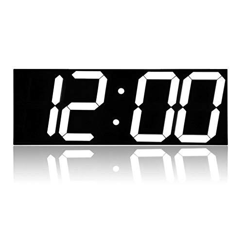 ZhengFei Alarma Control Remoto LED Reloj Pared Digital