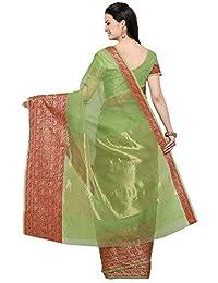 9dd701834b Linen Women's Sarees: Buy Linen Women's Sarees online at best prices in  India - Amazon.in