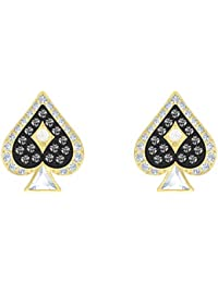 Swarovski Pendientes de botón Mujer chapado en oro - 5510528
