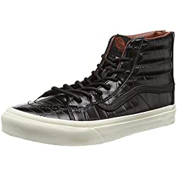 Vans, Sneaker Donna, Nero (Black (Croc Leather - Black)), 38