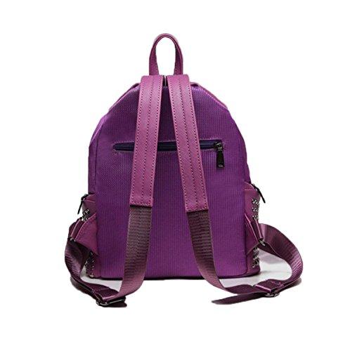 Fashion Wild Rucksack Mit Hoher Kapazität Student Bag Orange