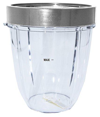 blendin 18oz Shorts Cup With 1Lip Ring, Fits NUTRiBULLET Blenders by Nutri Bullet