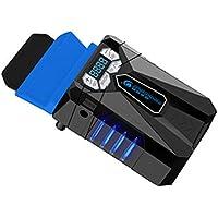 Portátil Refrigeración Ventilador USB Silencioso, Gaming Laptop Fan Cooler Portátil, Super Laptop PC Cooler, Ventilador De Aire Para Portátil Extractor De Vacío Para Portátiles De Juego De Enfriamiento Rápido Y Pcs ,B
