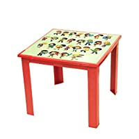 Kids Children Plastic Folding Foldable Table with Printed Top