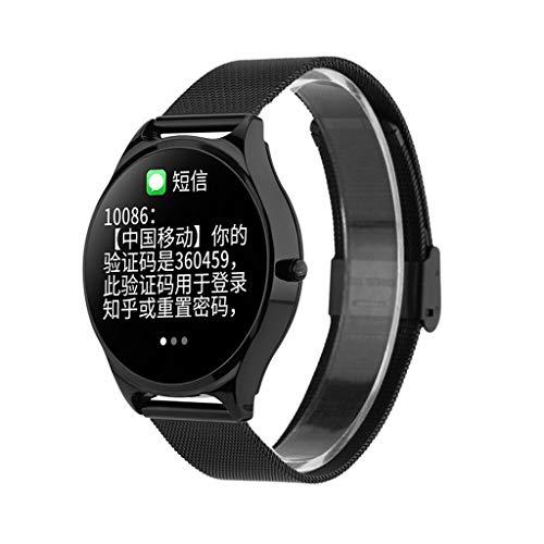Fitness Armbanduhr, Elospy Wasserdicht Smart Watch Fitness trackers Sport Uhr mit Schrittzähler Pulsmesser Kamerasteuerung, Musiksteuerung Sportuhr Schlaf-Monitor Call SMS Android iPhone Handy