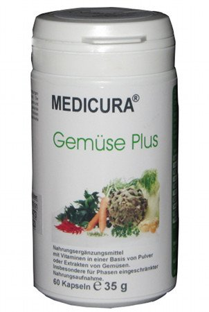 Gemüse Kapseln (Gemüse Plus Kapseln 60 Stck.)