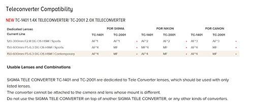 Affordable Sigma AF EX DG 2X APO Tele-Converter for Sigma Camera Online