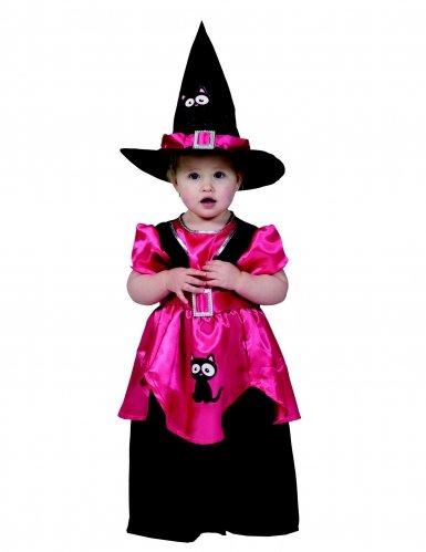 Generique - Kleine Hexe Kostüm Mädchen 98 (2-3 Jahre)