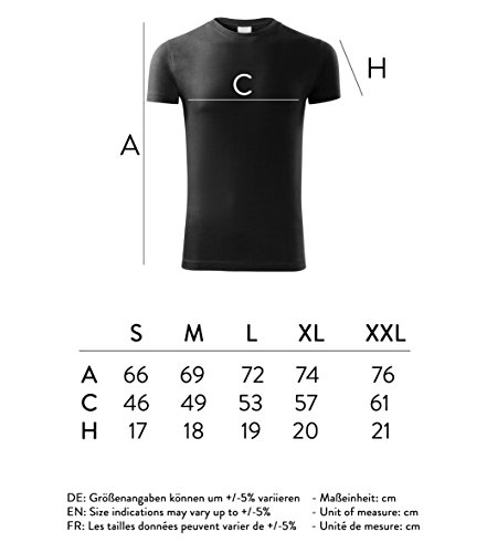 Herren Shirt moin digga schwarz & weiß Motiv - T-Shirt Poloshirt mit Motiv - Neu S - XXL Schwarz