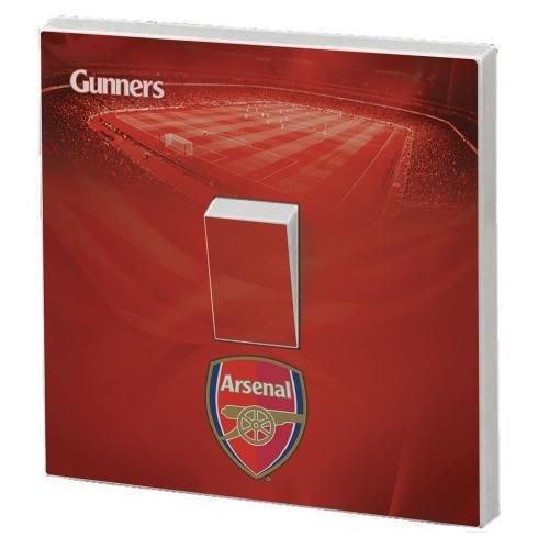 FC Arsenal Schutzhülle für Lichtschalter-Aufkleber