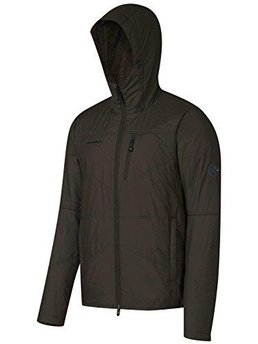 Mammut Runbold IS Hooded Jacket men marine bison brown 7205