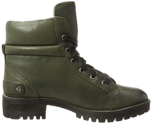 London Laces Vert Bottes Hellen Pepe Femme Green Military Jeans t15wqqz