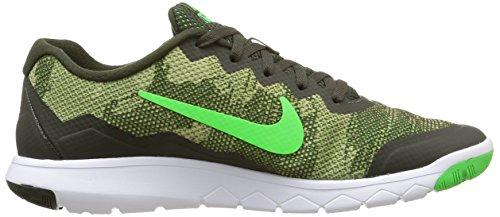 Nike Flex Experience Rn 4 Prem Herren Sport & Outdoorschuhe mehrfarbig (Sequoia/Grn Strike-Strng-White)