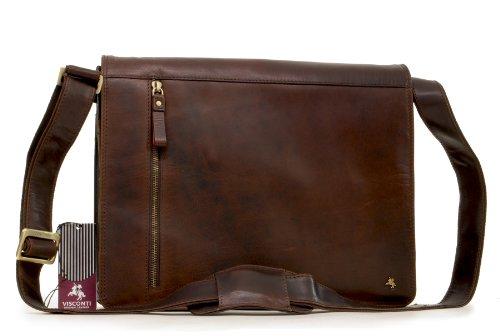 Visconti - Sac bandoulière pour iPad A4 - ML23 - Cuir de Buffalo