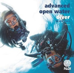 PADI Adventures in Diving Book and Slate Training Materials for Scuba Divers -