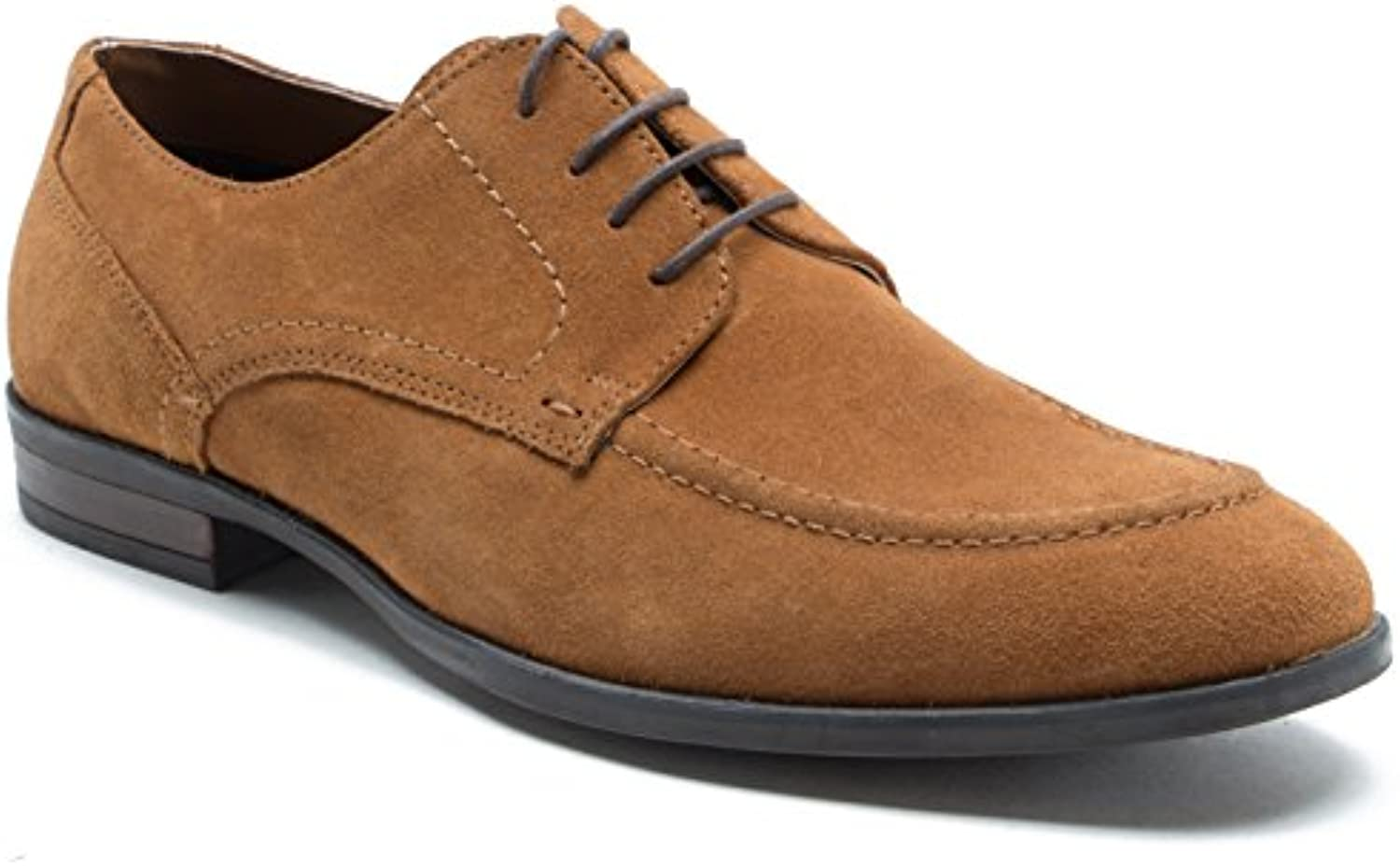 Red Tape Men's Witton Suede 4 Eyelet Gibson Derby Formal ShoeRed Tape Witton Eyelet Gibson