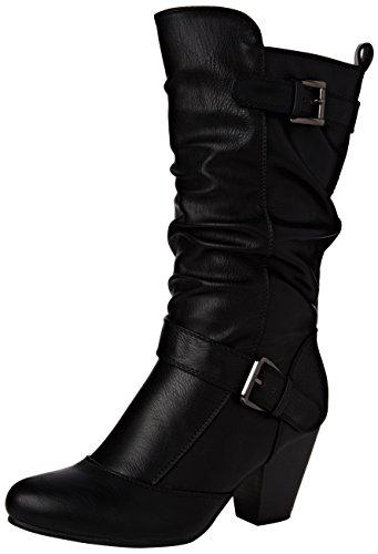 Lotus Women's Cassius Slouch Boots, Black (Black), 6 UK 39 EU