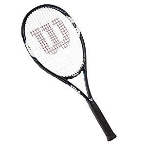 Wilson Tennisschläger Damen/Herren, All Courter, Freizeitspieler, Surge Open 103, Blau/Weiß
