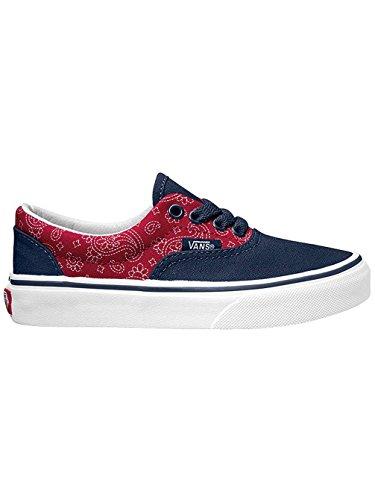 Vans Unisex-Kinder Era Sneakers (bandana) dress blues/chi