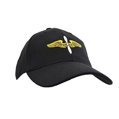 black-us-air-force-cadet-wings-baseball-cap