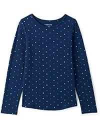 Lands  End Gemustertes Langarm Jersey-Shirt für große Mädchen 667226b2d9