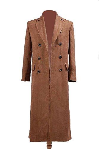 Who is Doctor Dr. braun lange Graben Mantel Suit Kostüm (L-Herren)
