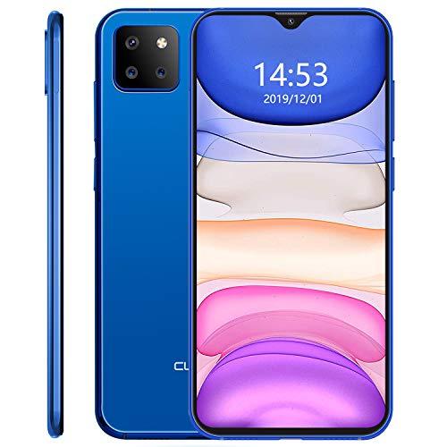 CUBOT X20 Pro Smartphone 15.71 cm (6.3 Zoll), 128GB interner Speicher, 6GB RAM, Triple-Hauptkamera, Android 9.0 Pie, Dual SIM Blau Ocean Blue (European Version)