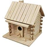 Birdhouse in Legno - Parrot Budgerigar Bird Cage Nest House - Comfort Area per Riposo e Nest Buchi Buona Ventilazione