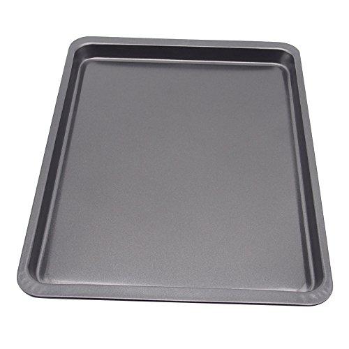 LANKER Kuchen Backform, Stahl in Cupcake-Form Kuchen, Pfanne Aluminiumguss Backblech Muffin Tassen Bakeware KT35 (Texas Muffin)