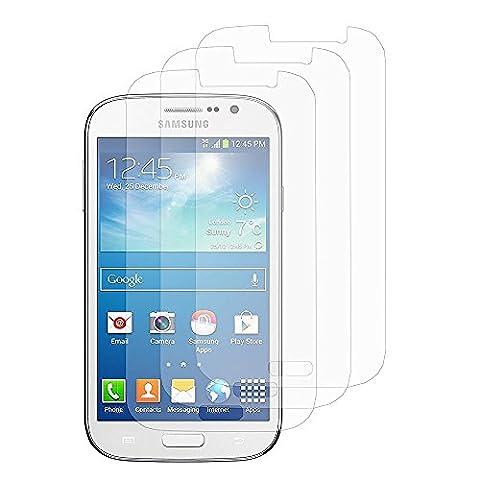 HQ-CLOUD lot de 3 Films Protection d'ecran Transparent pour Samsung Galaxy Grand Plus / Grand Neo / Grand Lite