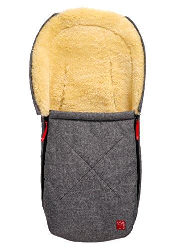 kaiser-emma-sac-de-couchage-en-peau-dagneau-anthracite-melange