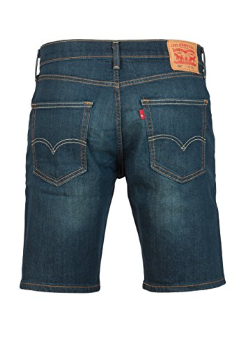 Levis 502 Regular Taper Short Rosefinch Bleu