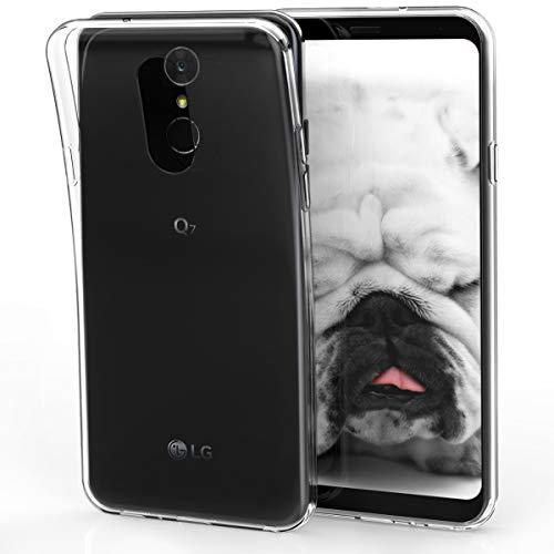 kwmobile LG Q7 / Q7+ / Q7a (Alpha) Hülle - Handyhülle für LG Q7 / Q7+ / Q7a (Alpha) - Handy Case in Transparent