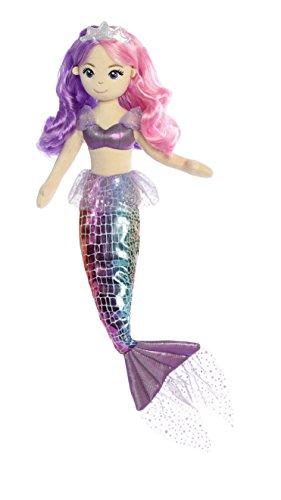 """Aurora World 3323445,7cm """"Mer Sparkles Pastel Mer Iris"""" jouet"""