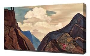 Nicholas Roerich - Message From Shambhala 1931 - Reproduction d'art sur toile