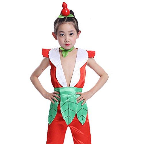 Wgwioo Kinder-Bühnen-Performance-Kleidung Umwelt Teen Jungen Mädchen Tragen