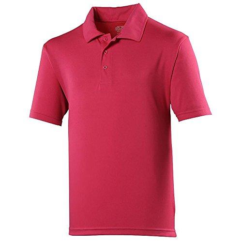 AWDisMädchen Poloshirt Fire Red