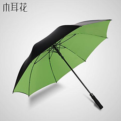 ZQ@QXGambo lungo creative ombrello Ombrello Ombrelloni Ombrelloni Ombrelloni , automaticamente gli uomini in verde   Prese tedesche    Moderno Ed Elegante Nella Moda  a39c74