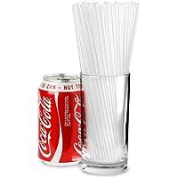 Collins Straws 8inch Clear - Box of 1000 | Plastic Drinking Straws, Straight Straws, Cocktail Straws