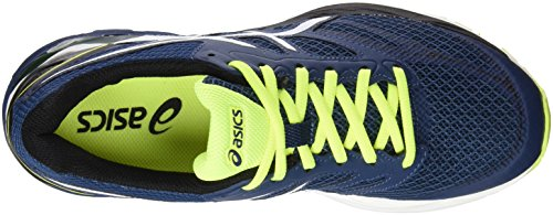 Asics Gel-Pulse 8, Chaussures de Course Homme Bleu (Poseidon/White/Safety Yellow)
